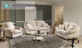 Sofá Clásico disponible en 3, 2 y 1 Plazas, Rinconera y Chaiselongue Ref MCA76400