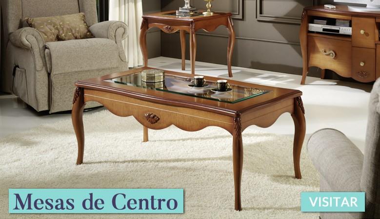 Mesas de centro clásicas
